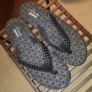 Clarks Liya Gander Sandals SZ 8